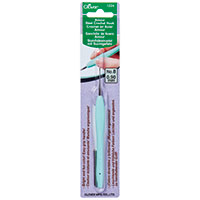 Clover Amour Crochet Hook 0.9mm Pale Blue