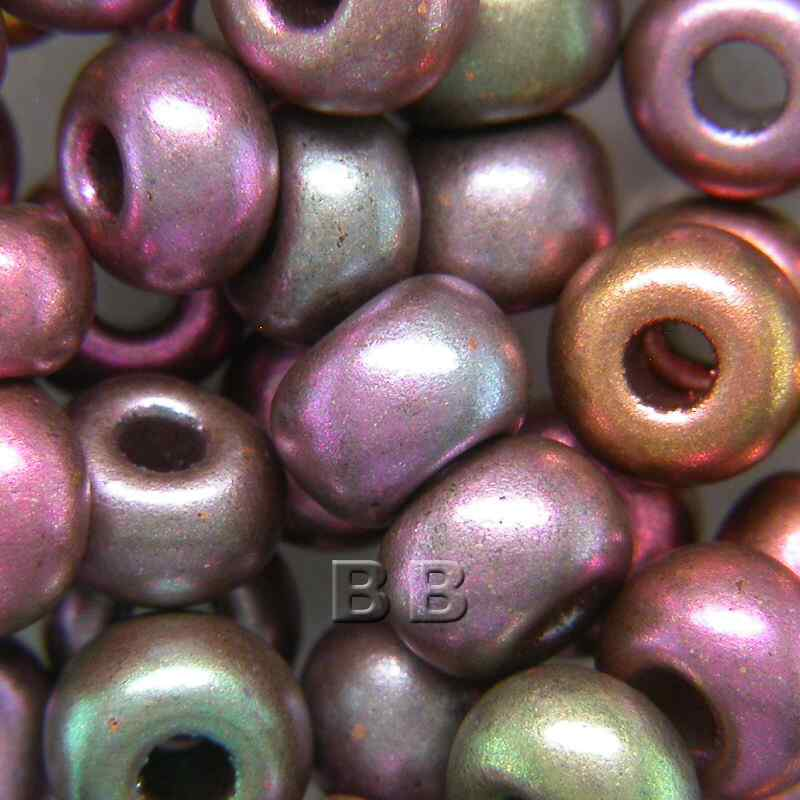 Boundless Beads Mixed Brushed Copper Metallic 5/0