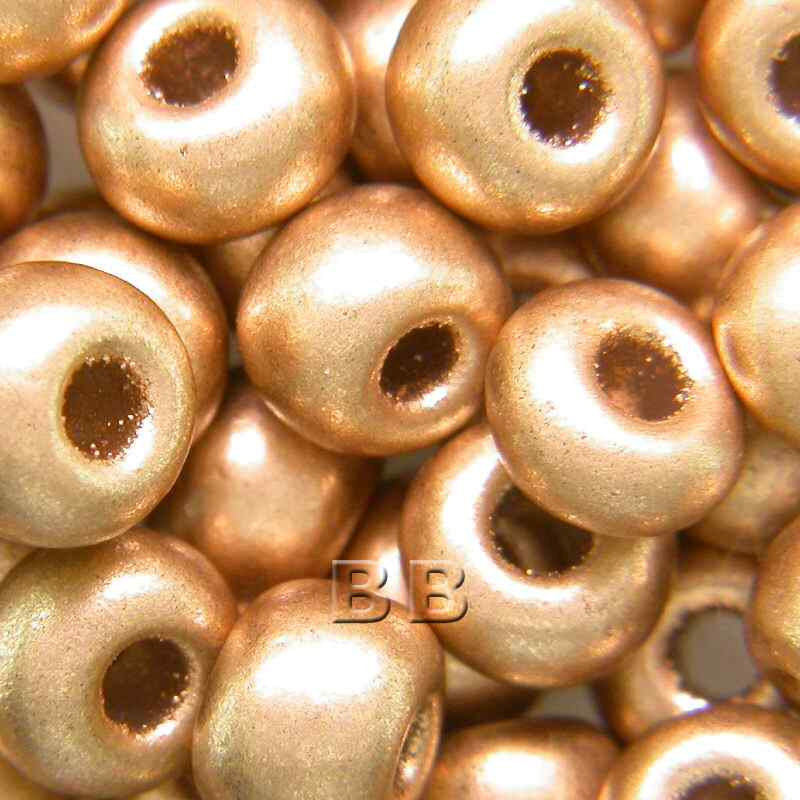 Boundless Beads Brushed Gold Metallic 5/0