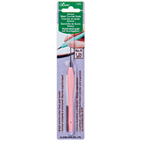 Clover Amour Crochet Hook 1.25mm Salmon Pink
