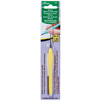 Clover Amour Crochet Hook 1.5mm Yellow