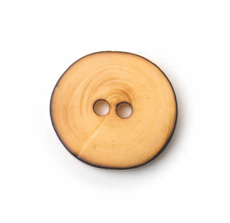 Irregular Shaped Wooden Buttons (loose) 22mm