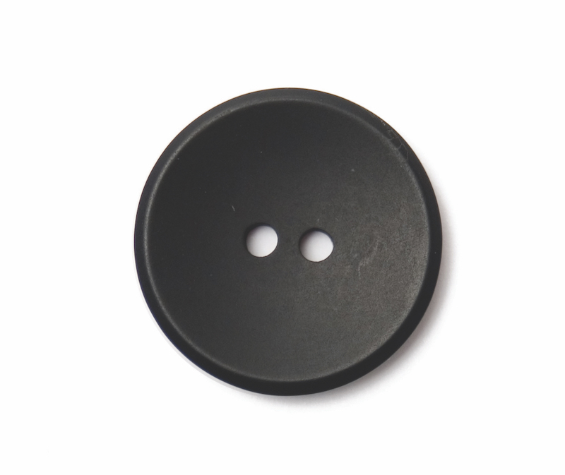 ABC Loose Buttons Black Plain 25mm