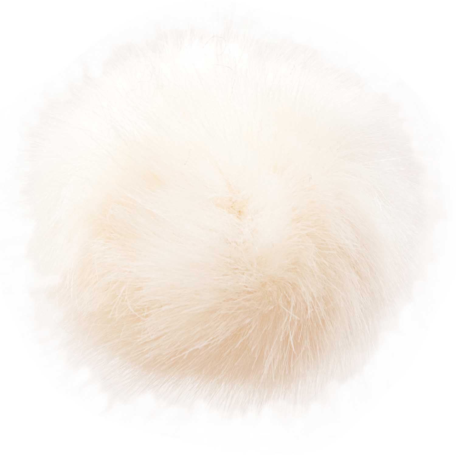 Rico Designs Fake Fur Pompon 001 Nature
