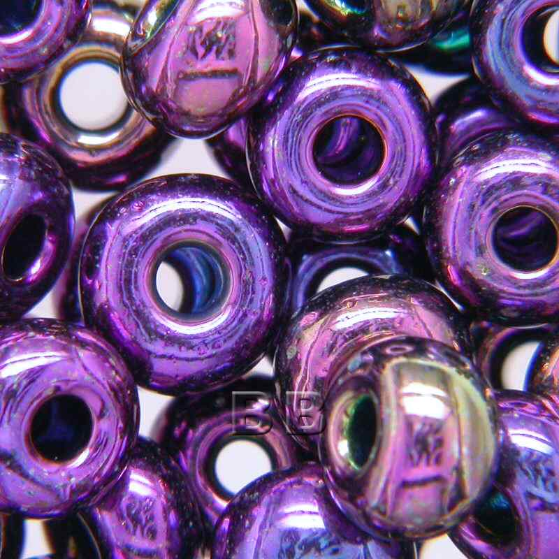 Boundless Beads Purple Iris Metallic beads 5/0