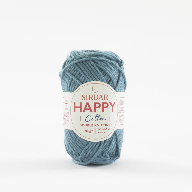 Sirdar Happy Cotton 750 Beach Hut