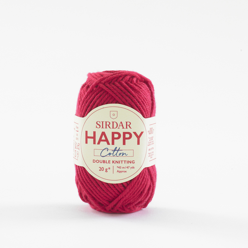 Sirdar Happy Cotton 754 Cherryade