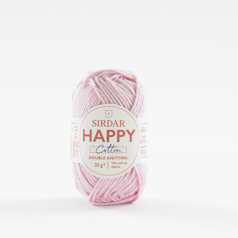Sirdar Happy Cotton 760 Flamingo