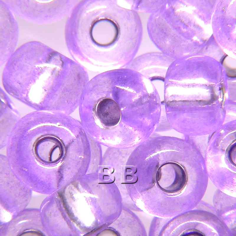 Boundless Beads Violet Silver Lined 5/0