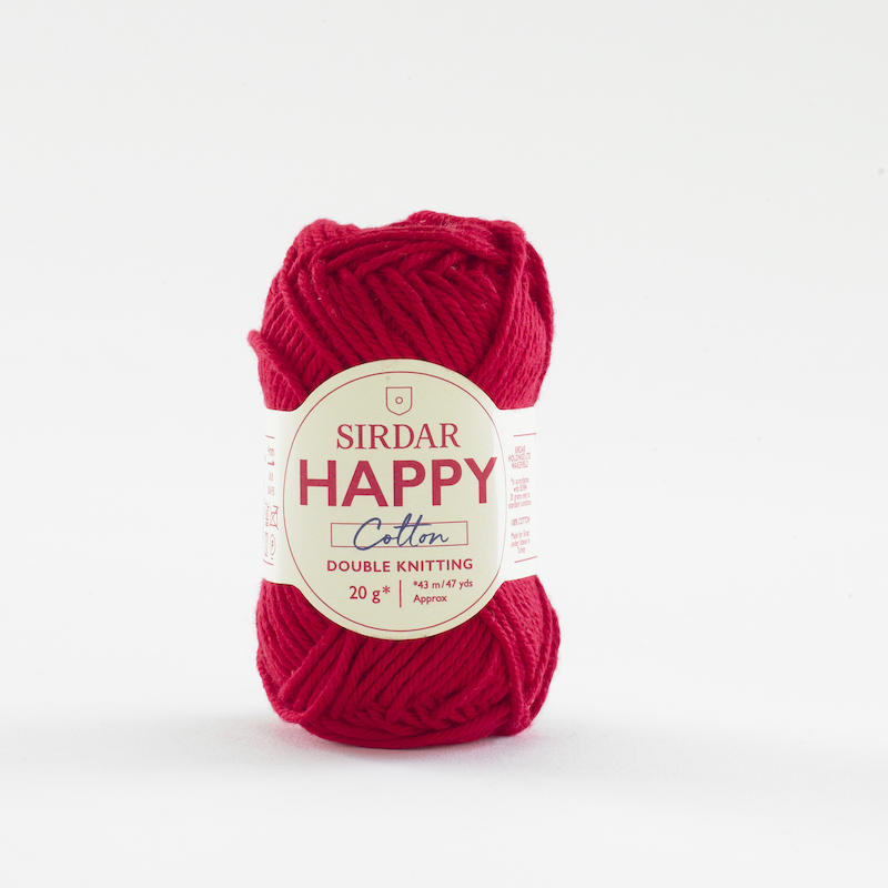 Sirdar Happy Cotton 789 Lippy