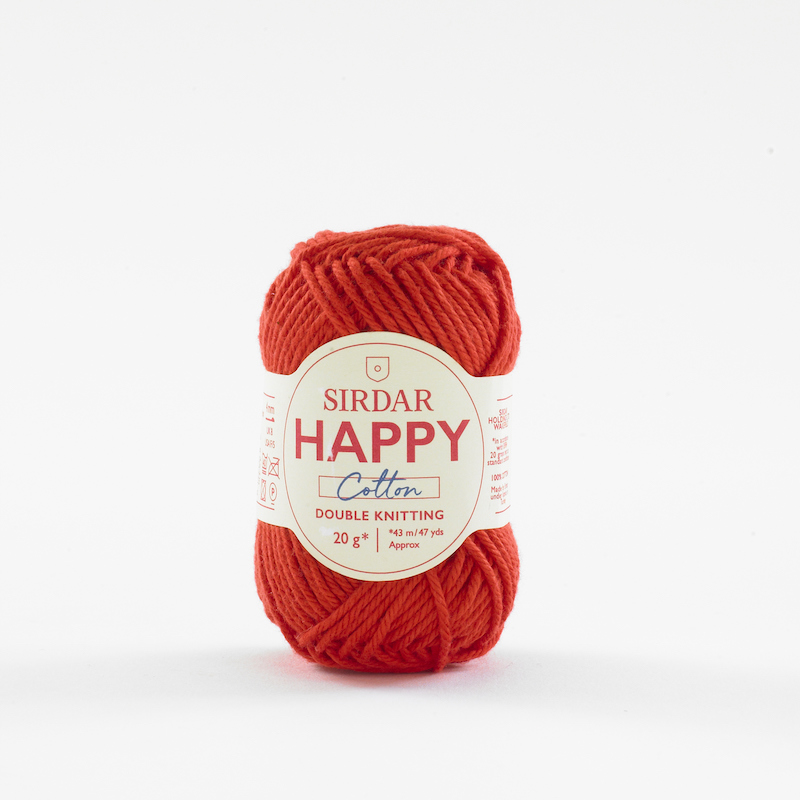 Sirdar Happy Cotton 790 Ketchup
