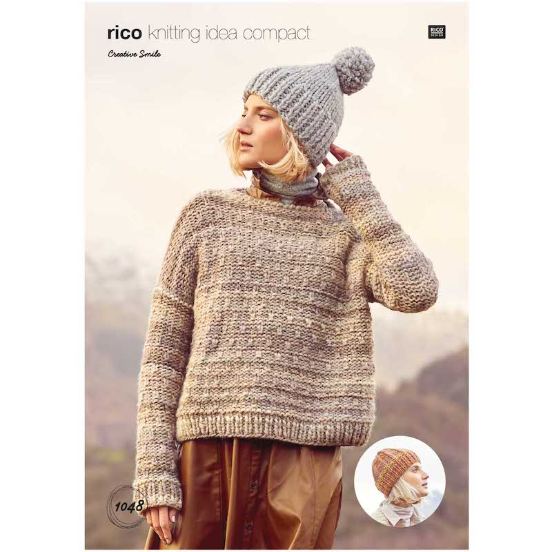 Rico Creative Smile 1048 Sweater & Hat