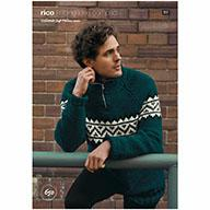 Rico Essentials Soft Merino Aran 650 Troyer Sweater