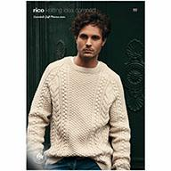 Rico Essentials Soft Merino Aran 651 Cable Sweater
