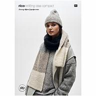 Rico Luxury Alpaca Superfine Aran 667 Hats & Scarf