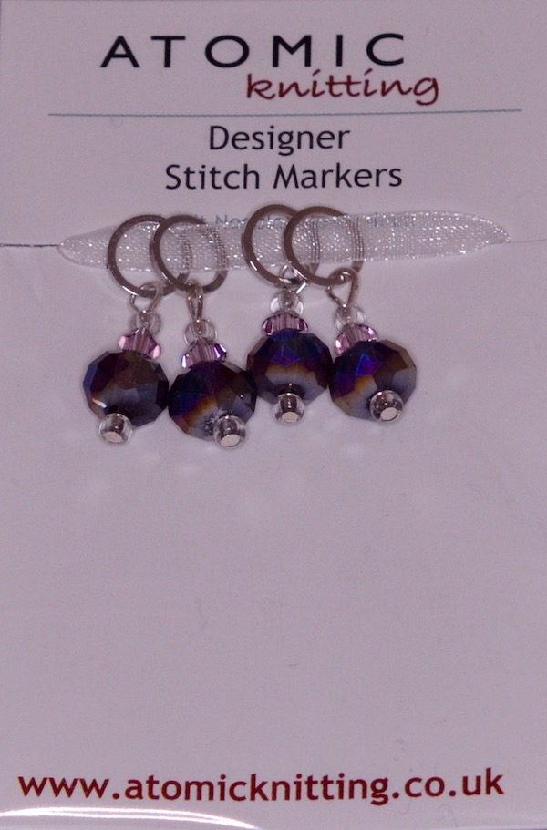 Atomic Knitting 4mm Dew Berry Stitch Markers