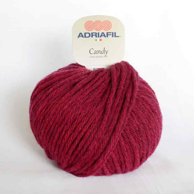 Adriafil Candy 91 Cherry Red