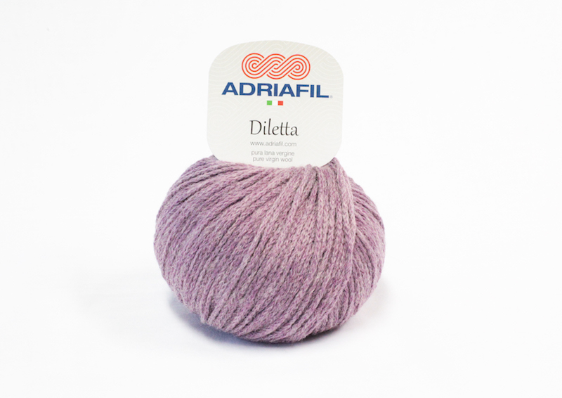 Adriafil Diletta shade no. 25 Plum