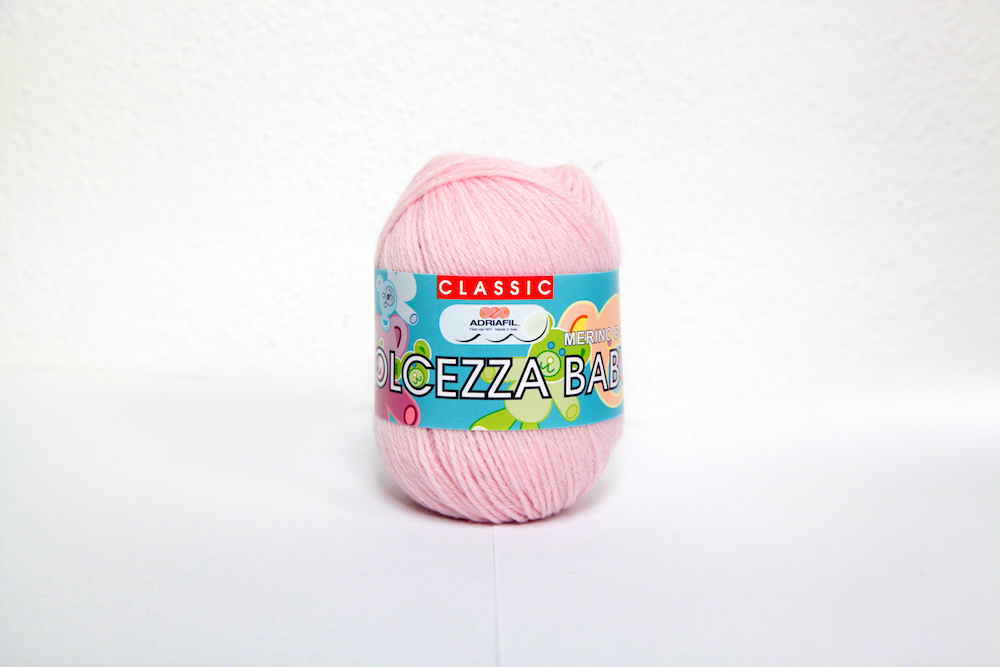 Adriafil Dolcezza Baby 3ply, 03 Baby Pink