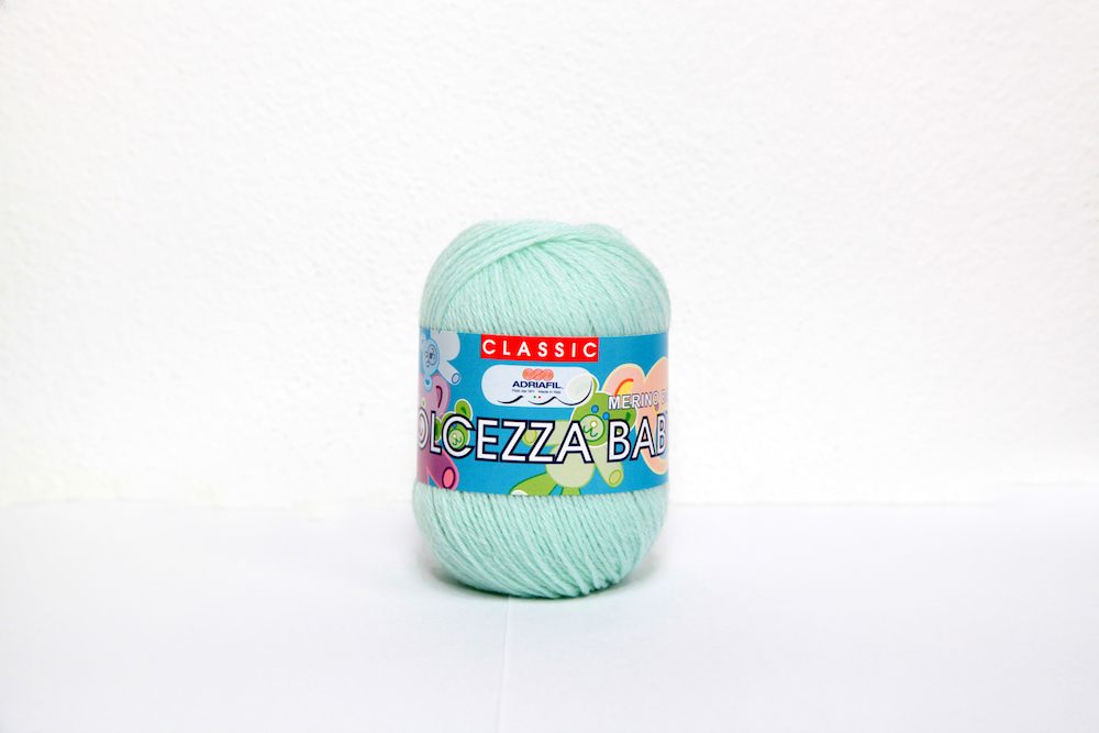 Adriafil Dolcezza Baby 3ply, 08 Sea Green