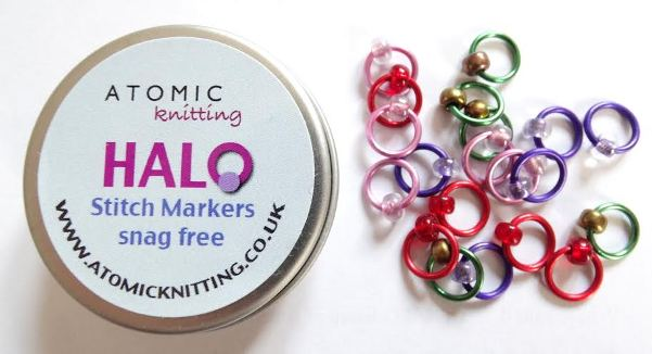 Atomic Knitting Halo Stitch Marker