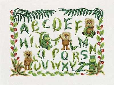DMC Lion and Hippopotamus Sampler BK306