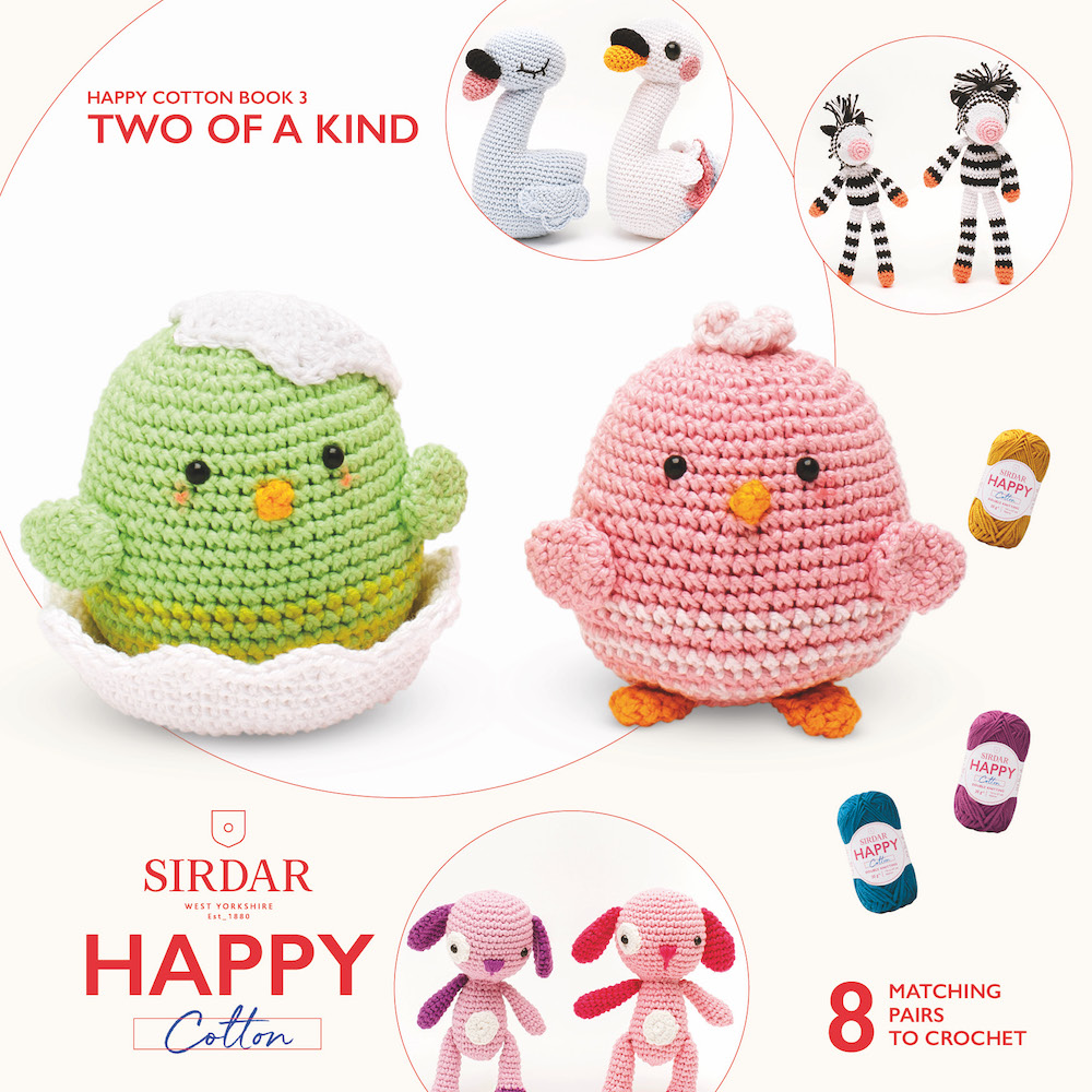 Sirdar Happy Cotton Book 3 Two Of A Kind