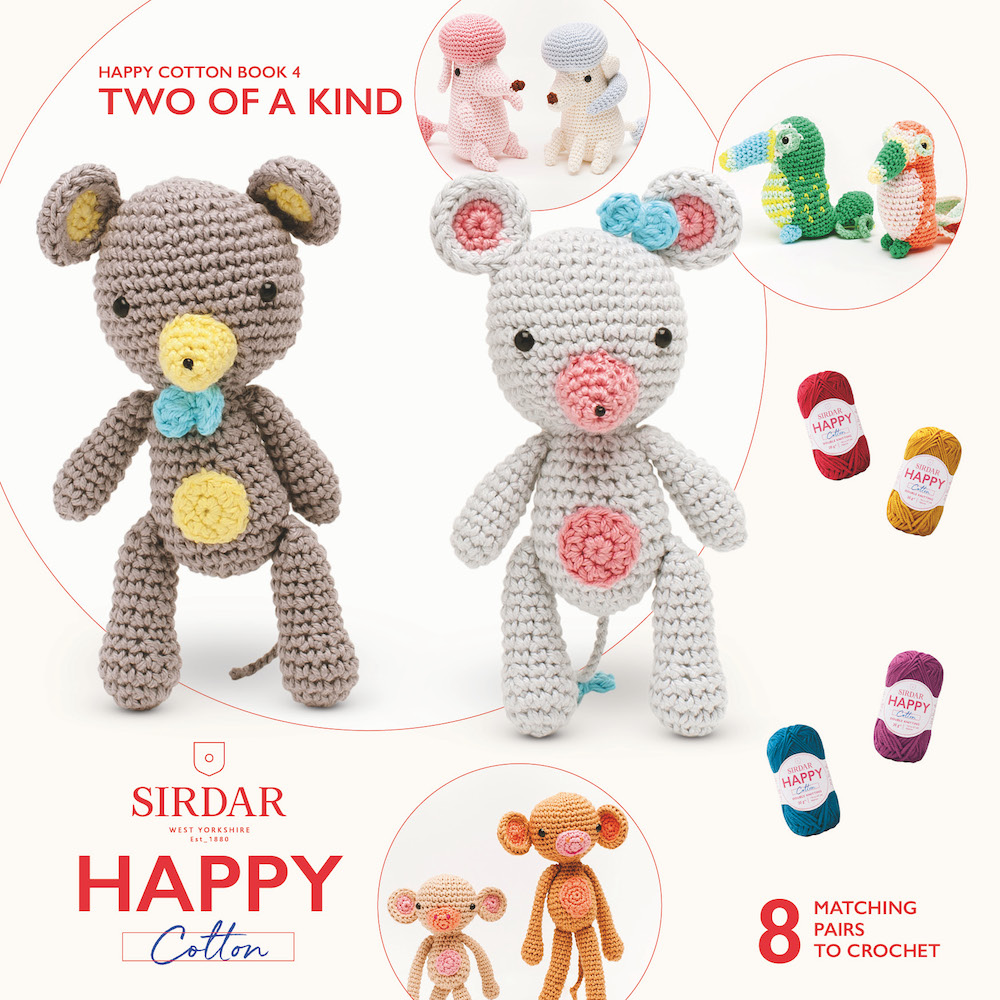 Sirdar Happy Cotton Book 4 Two Of A Kind