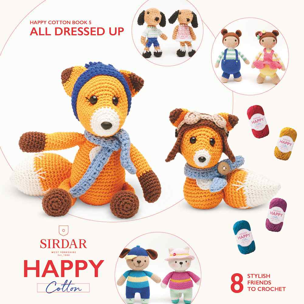 Sirdar Happy Cotton Book 5 All Dressed Up