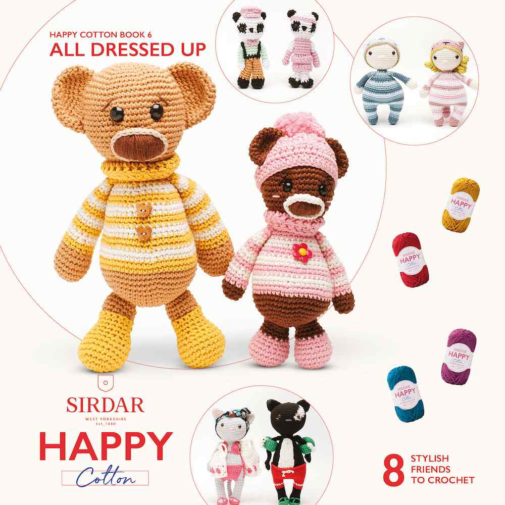 Sirdar Happy Cotton Book 6 All Dressed Up