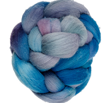 Manos Merino Roving Top - Bluejay 9886