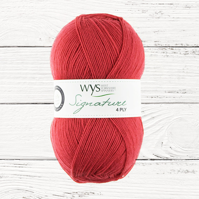 WYS Signature 4ply Spice Cayenne Pepper 510