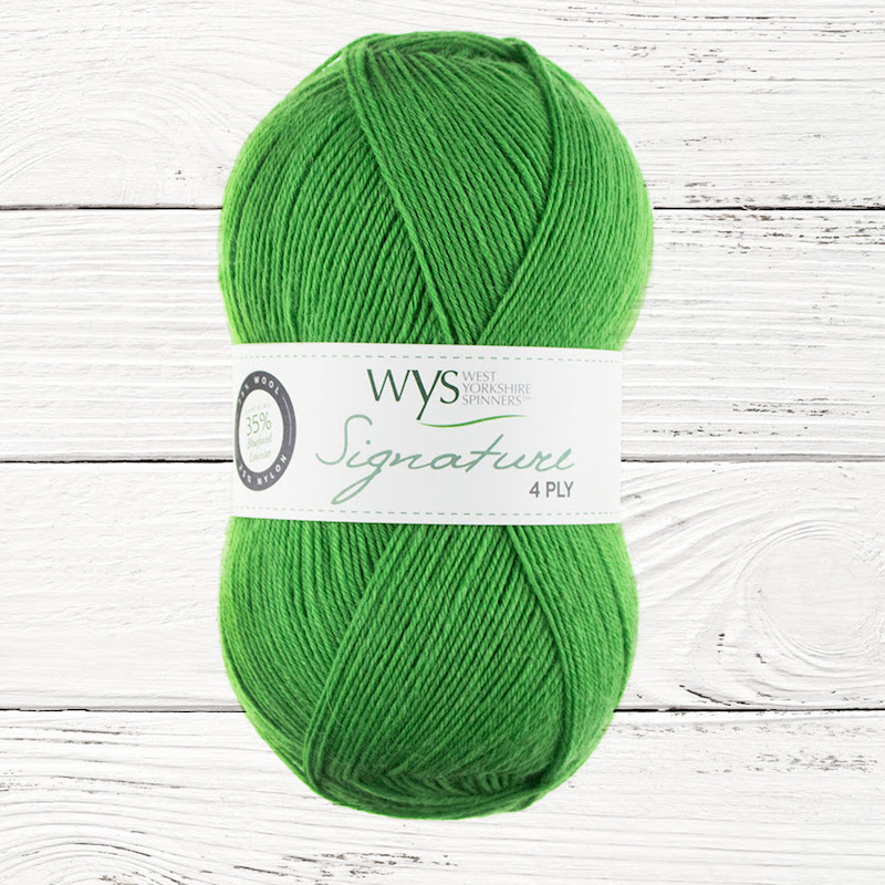 WYS Signature 4ply Sweet Shop Range - Chocolate Lime 395