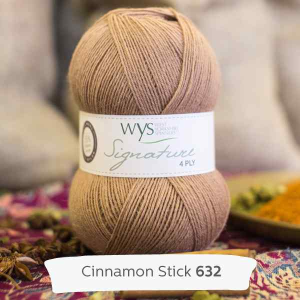 WYS Signature 4ply Spice Cinnamon Stick 632