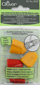 Clover Point Protectors for Circular Needles - Large