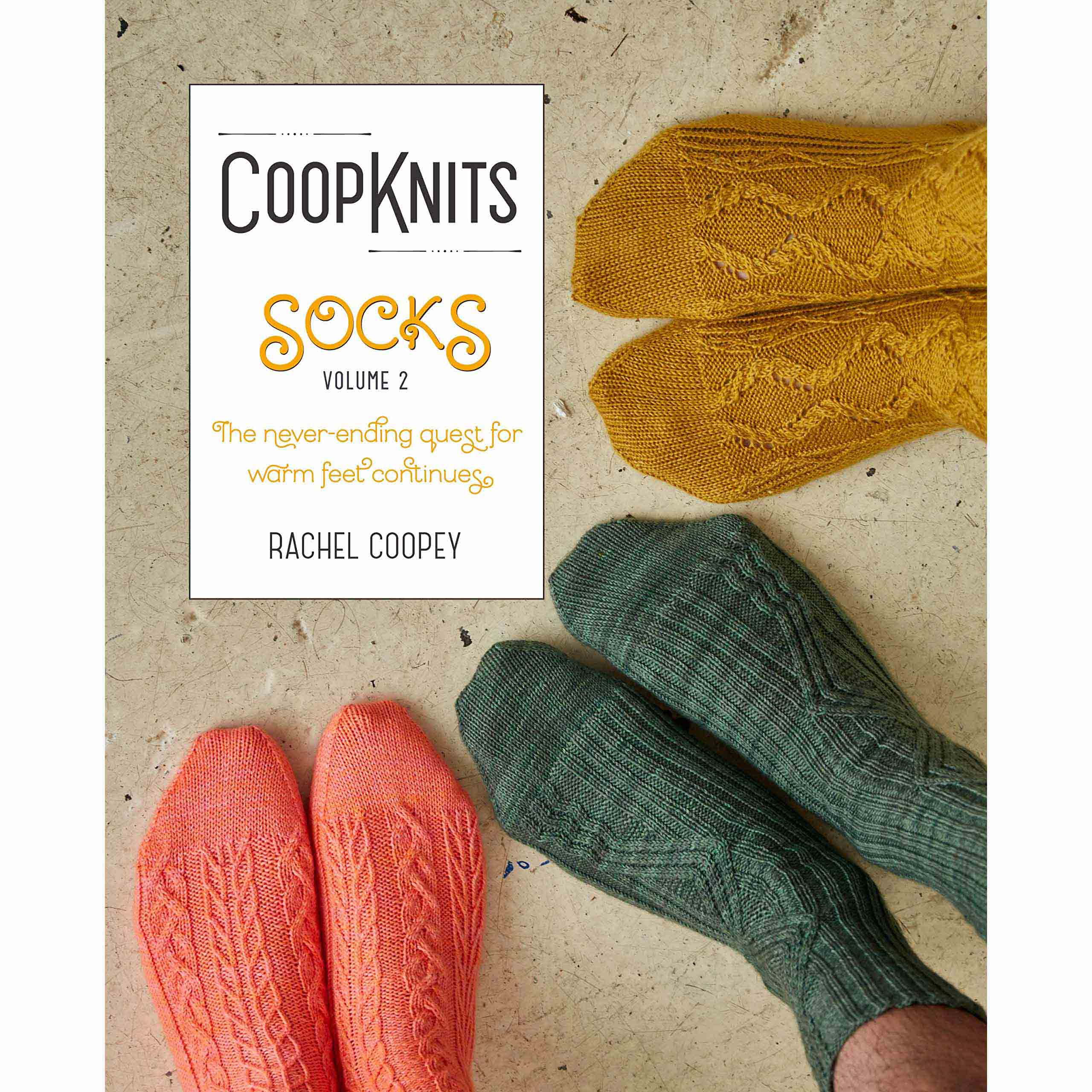 CoopKnits Socks Volume 2, by Rachel Coopey