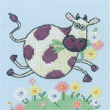 Cross-stitch Critters - Cow