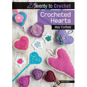20 To Make - Crocheted Hearts