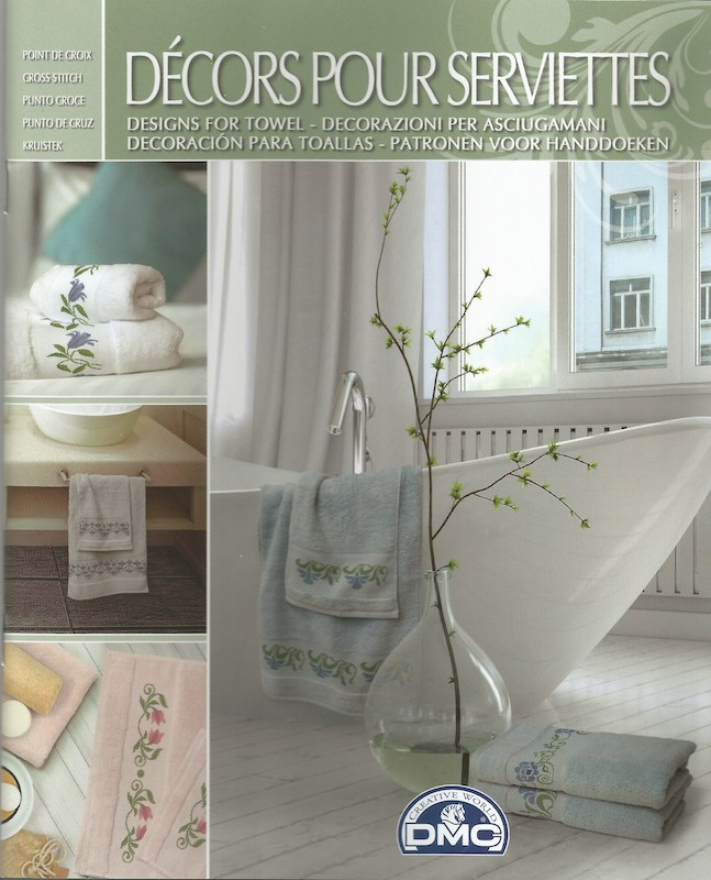 DMC Bath Towel Design Book