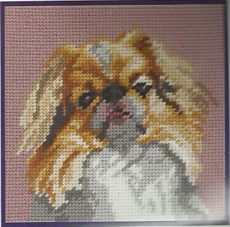 DMC Tapestry Kit - Japanese Spaniel (C881K)
