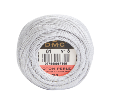 DMC Cotton Perle No. 8 Shade 01