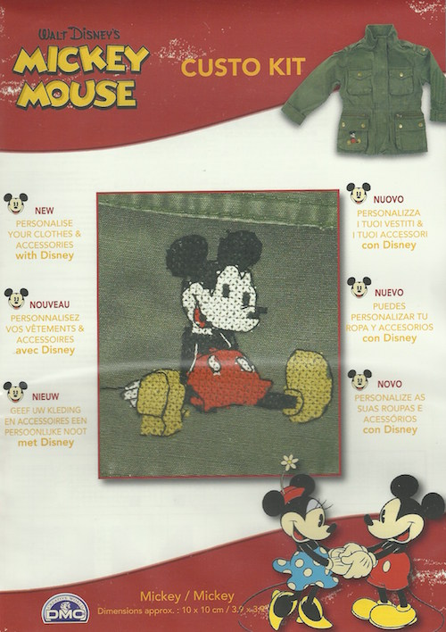 DMC Disney Custo Kit, Mickey Mouse