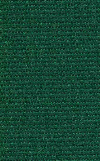 DMC 14 count Dark Green Aida 35 x 45cm