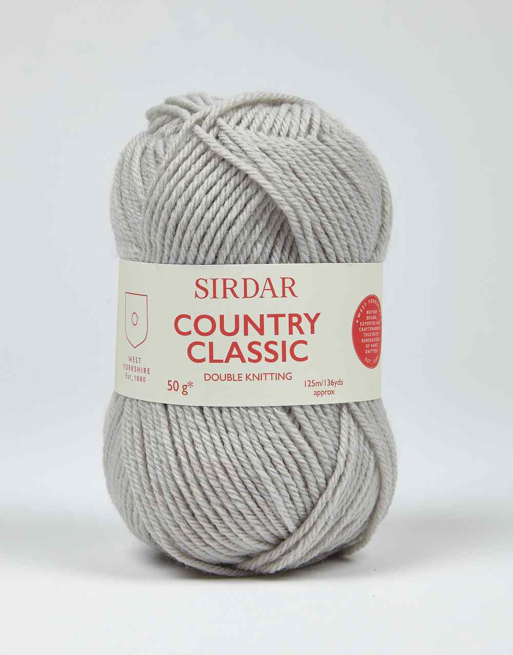 Sirdar Country Classic DK 0862 Dove Grey