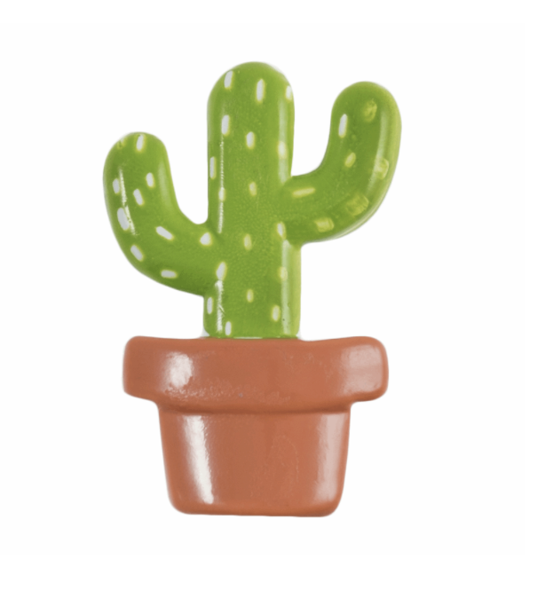 ABC Loose Buttons Cacti in Pot 22mm
