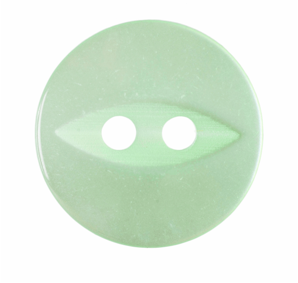 ABC Loose Buttons Light Green 14mm