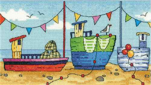 Karen Carter, By The Sea, Boats