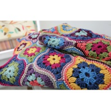 Jane Crow Crochet Pattern - Mystical Lanterns Blanket
