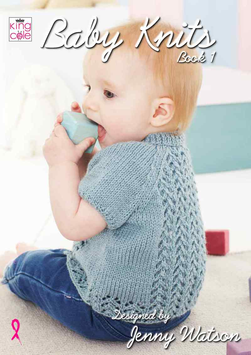 King Cole Baby Knits Book 1 by Jenny Watson