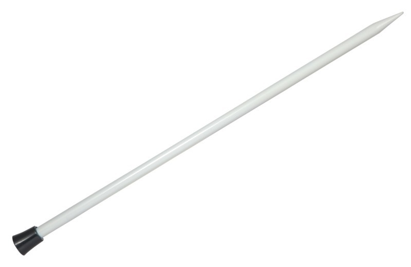 Knit Pro Basix Aluminium Single Point 2.00mm x 25cm